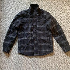 HURLEY - Pendleton covert wool black plaid jacket